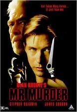 Mr. Murder (DVD, 2004, Canadian) VG