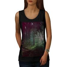 Deep Dark Forest Femmes Tank Top New | wellcoda
