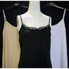 New ex M&S Cool Comfort Lace Trim Neckline Soft Stretch Full Slip / Nightie
