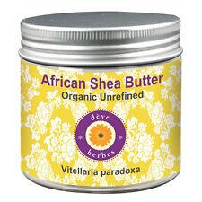 Organic African Shea Butter Unrefined Vitellaria paradoxa 100% Natural & Pure