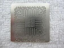 Intel ATOM N475 Q4KT SLBX5 1.83GHZ N450 Q3D4 ES SLBMG Q4JS CPU Stencil Template