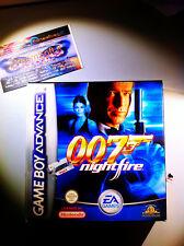 007 NIGHTFIRE ADVANCE NUOVO NEW NINTENDO RARO NDS GBASP