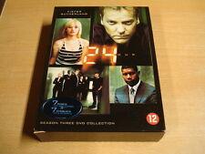 7-DISC DVD BOX / 24 ( TWENTY FOUR / KIEFER SUTHERLAND ) - SEASON THREE
