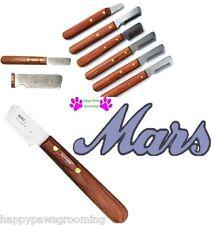 MARS DOG Pro Undercoat Hair Coat Fur STRIPPING Carding Trimming KNIFE Knives