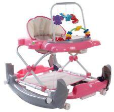 Babywalker Gehhilfe Walker Lauflernhilfe Licht Schaukel Wiege Gehfrei rosa blau