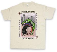 FARMINGTON STRIKE TEAM CARD T-SHIRT - Sutter Vic Mackey Snake The Shield T Shirt