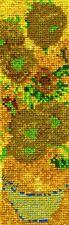 DMC The National Gallery-Van Gogh Sunflowers-Kit punto croce per segnalibro, ...