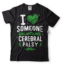 Cerebral Palsy Awareness T-shirt I love someone with Cerebral Palsy Tee Shirt