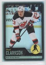 2012-13 O-Pee-Chee Black Rainbow Foil #74 David Clarkson New Jersey Devils Card