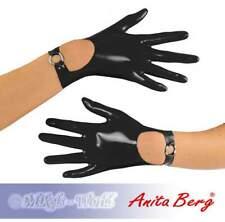 Anita Berg - Kurze Latex Handschuhe mit Riemchen in diversen Farben