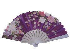 White Slab Chinese Folding Hand Fan