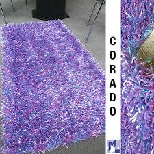 SOLDES! dekowe Corado poils longs Shaggy 90 Lilas Tapis Polyester rayon