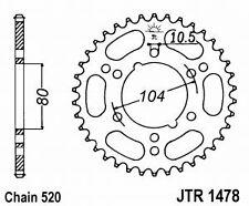 Couronne Pour Kit  chaine  520 Kawasaki ZXR 400 ZX-6R ZX-6RR 600 636