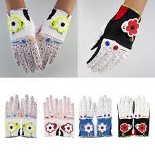 Premium PU Sports Women Golf Player Gloves - Lightweight Breathable Durable