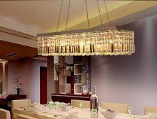 Modern Crystal Pendant Light Ceiling Lamp Home Shop Chandelier Lighting Hot