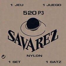 high Nylonsaiten g3 plastic wound Savarez 520P3 standard tension