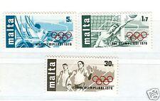 OLYMPIC GAMES MONTREAL 1976 MALTA 1976