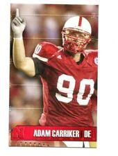 2006 Nebraska Cornhuskers Football Pocket Schedule NBA cards -> You Pick 'em