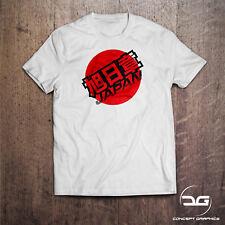 Rising Sun Japan Japanese JDM Drift Car Novelty Funny Mens T-Shirt Birthday Gift