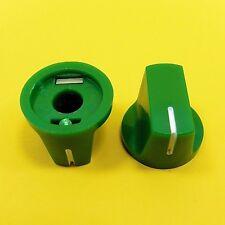 AMPLIFICATORE in Plastica Manopola 6 mm dell'Albero Del Potenziometro Chitarra Effetto Davies 1510 Stile