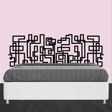 Vinilo moderno para la pared  dormitorio CABECERO LINEA CONTINUA