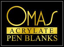 WOODTURNING - OMAS ACRYLATE PEN BLANKS©