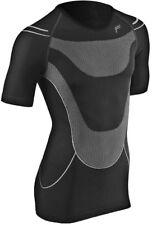 F Lite MegaLight 140 Noir Gris Hommes Chemise Fonctionnelle T shirt été MOTO