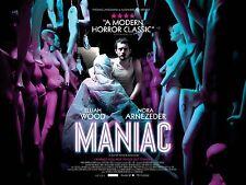 MANIAC Movie Poster 2013 Elijah Wood Horror