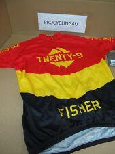 TREK Bontarger 29ER Cycling MTB Jersey M L Gary Fisher Black Red Yellow