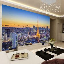 Tokyo Japan Dusk Skyscrapers Full Wall Mural Photo Wallpaper Print Home 3D Decal