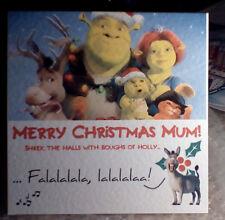 Fatto a mano SHREK cartolina di Natale. è possibile scegliere NOME! personalizzato o non Personalizzato