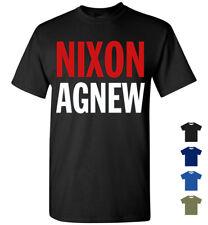 Nixon / Agnew 1968 Retro Campaign Logo T-Shirt, Men Women Youth '68 Dick Nixon