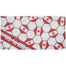 World Cup Canada Soccer Ball All Over Beach Towel