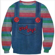 Mens/Womens good guys chucky 3D Print casual Sweatshirt hoodies Pullover CYJ21