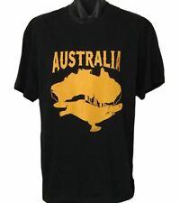 New Australian Native Animal Platypus T-Shirt (Black, Adult Sizes up to 4XL)