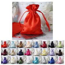 "12PCS Satin Gift Bag Drawstring Pouch Wedding Favors Jewelry Bags - 4""x 6"""