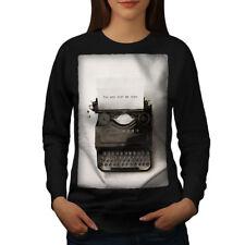 Vintage Typewriter Retro Women Sweatshirt NEW | Wellcoda