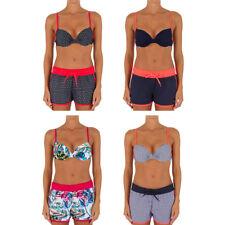 Women Two Pieces Floral Print Bra & Shorts Bikini Swimwear Bathing Suit New
