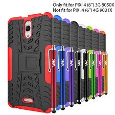"ALCATEL PIXI 4 (6"") 8050X 3G version heavy duty tough shockproof stand hard case"