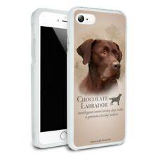 Chocolate Lab Labrador Dog Breed Slim Hybrid Case Fit iPhone 8, 8 Plus, X