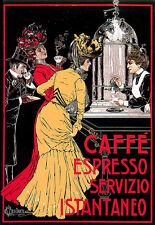 Deco Cafe Espresso Kitchen Ad Poster Print