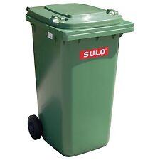 Container SULO 80 L Vert bac ordures ménagères poubelle extérieure tri (22122)
