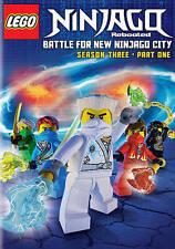 LEGO Ninjago Rebooted Battle for New Ninjago City Season Three Part One DVD 2014