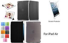 Screen Protector/Tri-fold Ultra Slim Transparent Smart Cover Case for iPad mini