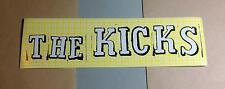 THE KICKS HELLO HONG KONG YELLOW TVT Amp Guitar Case Rare Promo STICKER