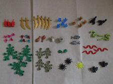 NUOVO LEGO animali cibo PIANTE FOGLIE SPADE CRISTALLI GEMME dinamite. SCEGLI 1 U WANT