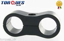 Un -8 (8AN an08) 13,5 mm La Manguera De Teflon Negro Billet aluminio Manguera De Combustible Separador