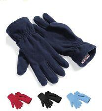 NOIR ROUGE ou bleu chaude SUPRA polaire ALPINE gants 100% polyester UNISEXE NEUF