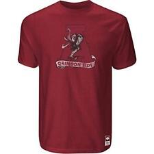 Alabama Crimson Tide Adidas Vintage Mascot Premium Slim Fit T Shirt
