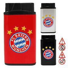 "Feuerzeug  "" FC BAYERN "" V-Fire Metall Lighter Feuerzeuge Fußball Sport München"